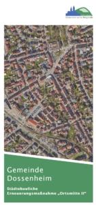 Sanierungsflyer der Gemeinde Dossenheim
